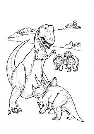 Small Picture Tyrannosaurus fighting with triceratops coloring pages Hellokidscom