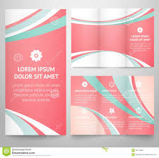 professional business three fold flyer template royalty professional three fold business flyer template stock photo
