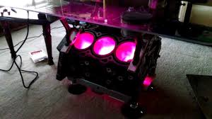 Led Coffee Table Diy Vq35 Coffee Table With Led Lights Youtube