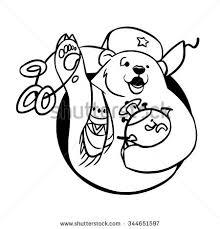 stock vector russian bear on white background vector illustration 344651597 beret russian stock photos, royalty free images & vectors on us air force bullet backgroun paper template download
