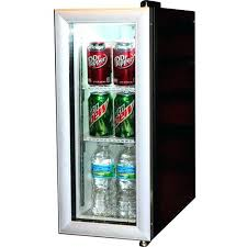 glass front mini refrigerator compact refrigerator glass door compact beverage display cooler refrigerator commercial glass door