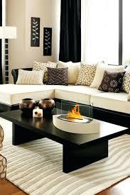 living room decorating items decoration black coffee