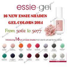 Essie Gel Colors Chart Essie Gel Nail Color Chart Papillon Day Spa