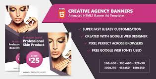 Fashion Banner Beauty Fashion Banner Ad Templates Html5 Css