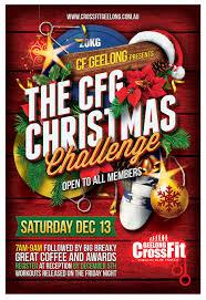 crossfit graphic design geelong christmas flyer design fox crossfit graphic design geelong christmas flyer