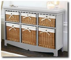 Top Mastercraft Basket Cabinet With 4 Wicker Baskets Beach Style Concerning Storage  Furniture With Baskets Decor | primedfw.com