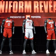 Rockets Unveil New Uniforms The Dream Shake