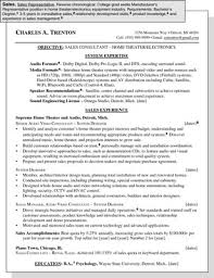 Sales Position Resume Examples Sample Resume For A Sales Position Dummies