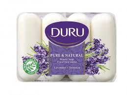 Pure & Natural Мыло Лаванда 4х85 г <b>Duru</b> — купить в Москве в ...