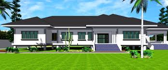 Ghana House Plans   Amega House PlanAmega House Plan