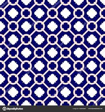 Blue And White Decorative Tiles Tile Indigo Blue White Decorative Floor Tiles Vector Pattern 16