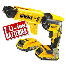 dewalt screw gun. dewalt dcf620d2k 18v li-ion xr brushless autofeed screwgun screw gun l