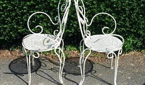 Vintage Porch Furniture Items Similar To Vintage Yellow Wrought Iron