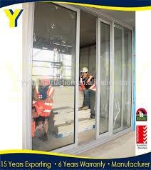 contemporary doors aluminium sound proof sliding door aluminium stacking doors glass balcony glass doorlarge doorsauto inside soundproof a