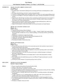Graduate Consultant Resume Samples Velvet Jobs