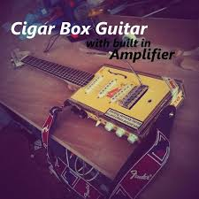 electric cigar box guitar w built in amplifier 9 steps an error occurred