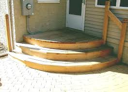 premade steps prefab outdoor steps stairs home depot exterior concrete step block kit how to