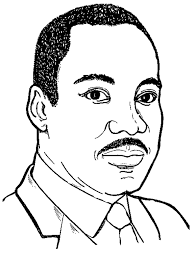 Martin Luther King Jr Coloring Sheet | Icons of the Civil Rights ...