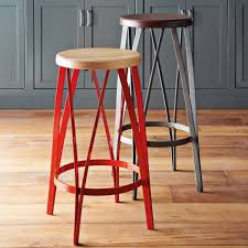 bar stools with backs awesome contemporary kitchen applying brown laminate flooring mathcing with gray cupboards plus furnished with red and awesome kitchen bar stools