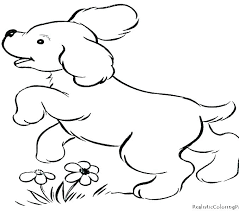 Puppy Coloring Pages Free Dachshund Coloring Pages Cartoon Puppy