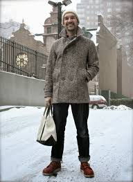 harris tweed winter wool jacket size m heavy coats for grailed