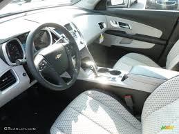 Light Titanium/Jet Black Interior 2013 Chevrolet Equinox LS AWD ...