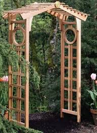 Small Picture Simple Garden Arbor Trellis Arch Woodworking Plans In Decorating Ideas