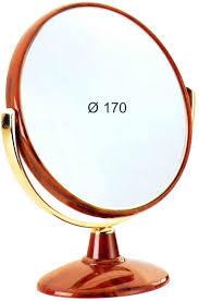 <b>Janeke Зеркало настольное D170</b>, линзы ZEISS, коричневое ...