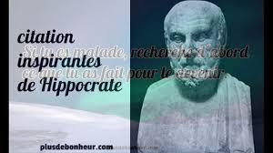 Belles Citations Inspirantes De Hippocrate