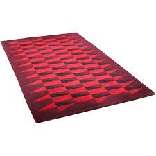 vintage large danish wool rug 1970s