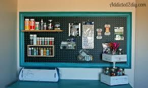 Peg Board Organization Home Decor Craft Room Pegboard Organization Addicted  2 Home Improvement Pegboard Storage Craft