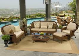 Living Room Wicker Furniture Wicker Chair Set