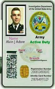 Scams A Id Fake Us By Facebook Created Military - Romance Card