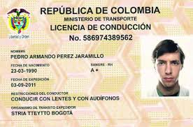 To Bogotá License The New Paper Drive City