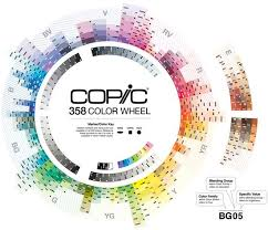 16 Exhaustive Blank Copic Color Chart 2019