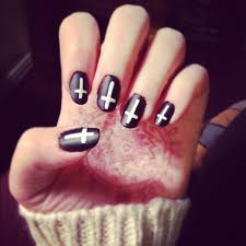 Black And White Nail Art Designs – Acrylic Nail Designs