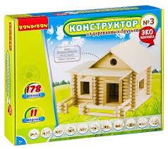 <b>Конструктор BONDIBON</b> Эко Избушка ВВ2603 №<b>3</b> — купить по ...