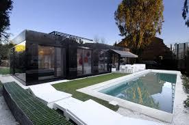 fantastic modern house lighting. Luxury Prefab Homes: How To Customize A Factorized : Fantastic Modern Minimalist Black House Lighting