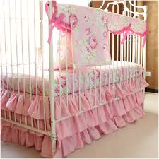 baby girl bedding crib per image of bright sets unique modern pink and gold comforter
