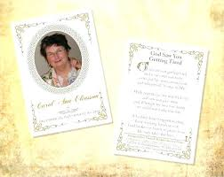 Memorial Pamphlet Template Our Favorite Actually Free Funeral Program Templates A Urns Online