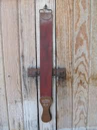 home antiques antique leather illinois razor strop co sharpener chicago