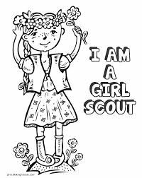 Small Picture Girl Scout Law Coloring Book Print all the pages to make a