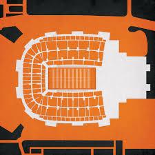 Boone Pickens Stadium Map Art