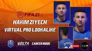 FIFA 21 - How to create Hakim Ziyech - Pro Clubs - Volta - Career Mode -  YouTube