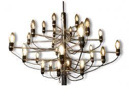 chandelier gino sarfatti by arteluce edition 297 30 1958 ceiling light lighting via antica