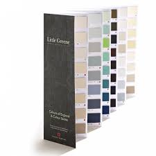 Little Greene Colour Card Colours Of England Colour Scales