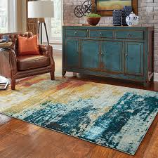 abstract area rug zoom