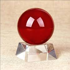 Decorative Balls Australia Impressive Red Glass Balls Decorative Excellent Glass Red Crystal Ball With