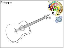 Small Picture Guitar Coloring Pages For Kids Guitar Coloring Pages YouTube