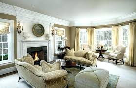 living room with bay window and fireplace living room bay windows formal living room with beige